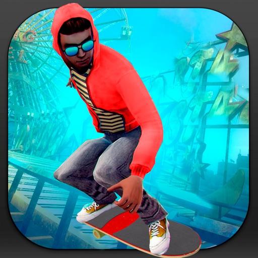 Xtreme City Skater: True Skateboard Boy