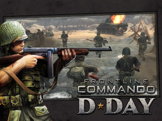Frontline Commando: D-Day-ipad-0