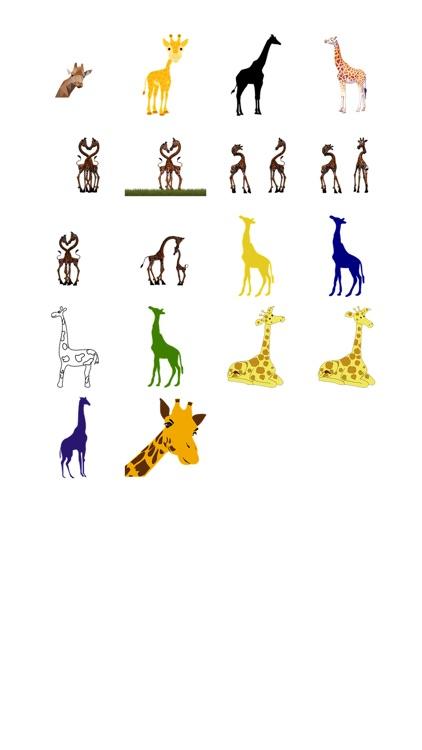 Giraffe Two Sticker Pack