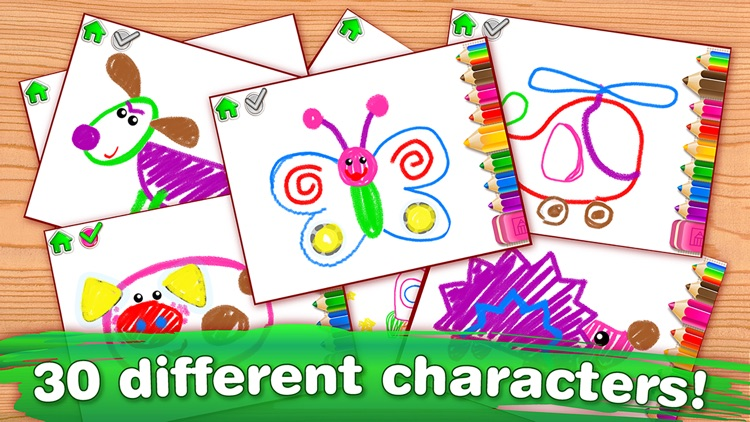 DRAWING for Kids FULL Coloring and Painting Games screenshot-4