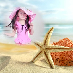 Sand Photo Frame - Best Photo Frame Editor