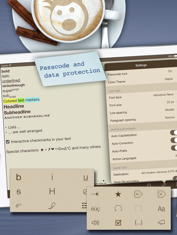 Textkraft Pro - Write, research, correct & share