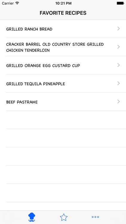 Grilled Recipes screenshot-4