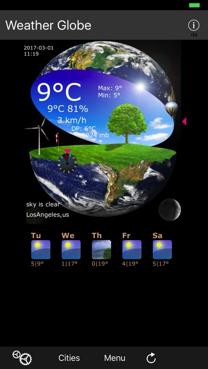 Weather Globe screenshot-0