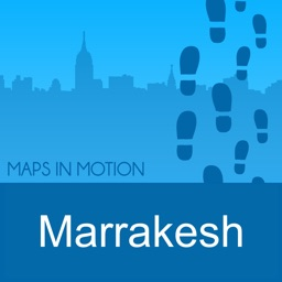 Marrakesh Offline Map : Maps In Motion