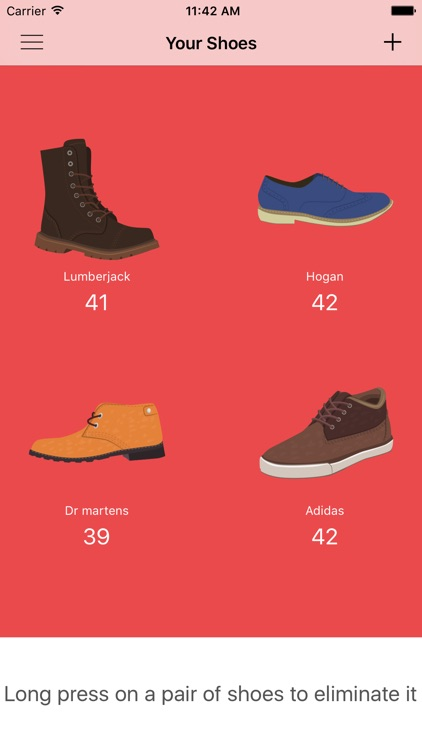 EasyShoes - Shoe Size Reminder screenshot-4