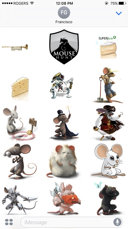MouseHunt Stickers