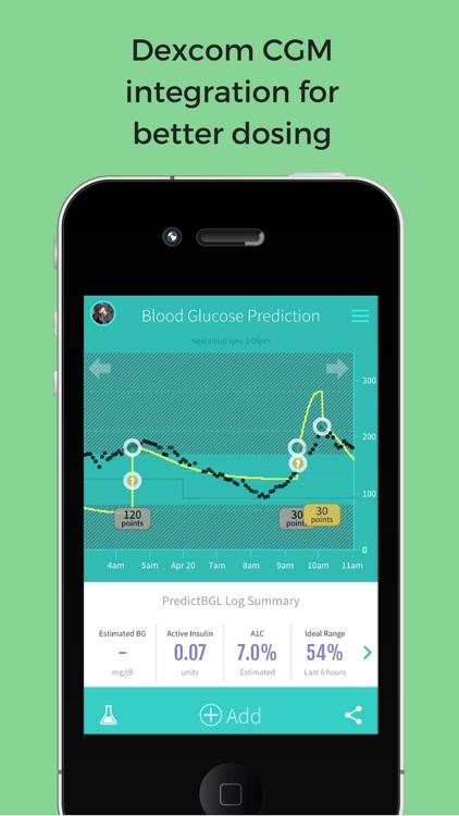 PredictBGL Diabetes Manager screenshot-4