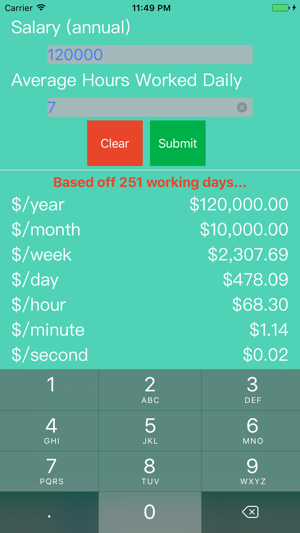 salary calculator hr pay wage payroll employee on the app store