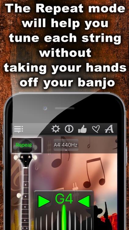 Easy Banjo Tuner screenshot-3