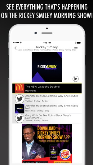 The Rickey Smiley Morning Show on the App Store