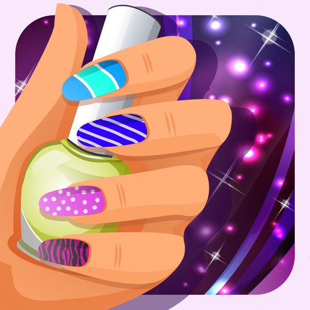 Nails Art Salon For Girls: Dressup Kids Games & Makeup Girl Game On The