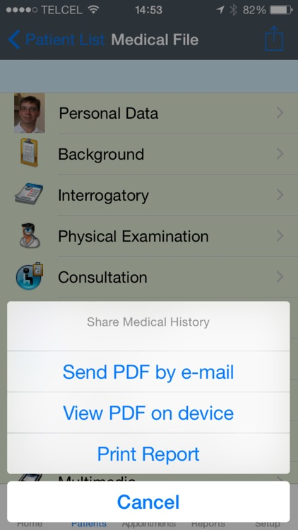 iDoctor Pro - Medical Record screenshot-4