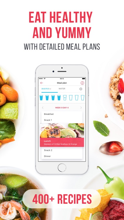 RUNNING for weight loss PRO: workout & meal plans app image