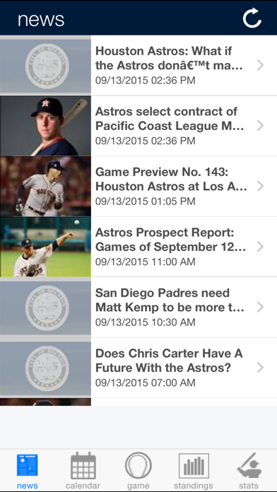 Houston Baseball screenshot one