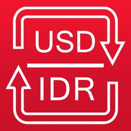 US Dollar / Indonesian Rupiah currency converter