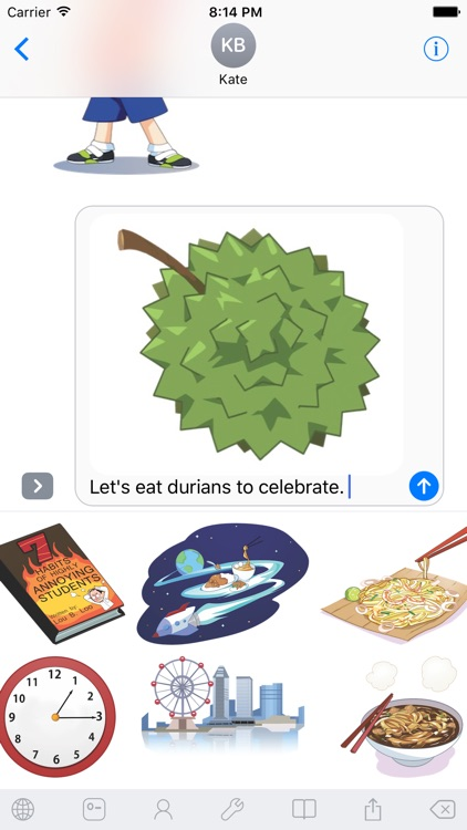 Witty WikkyMoji Keyboard screenshot-3