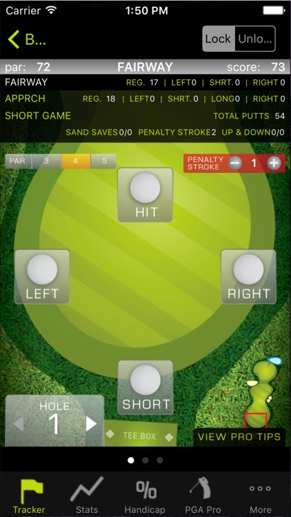 Golf Stats Tracker Pro screenshot-2