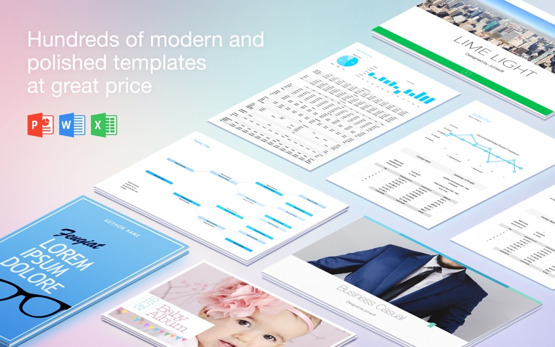 Lab for Microsoft Office - Templates Bundle Screenshot