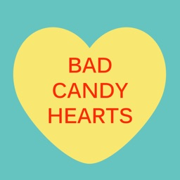 Bad CANDy Heart for iMessage Sticker