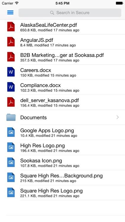 Sookasa | Encryption for Cloud screenshot-3