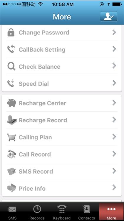 ViViCallPhone VOIP Call screenshot-4