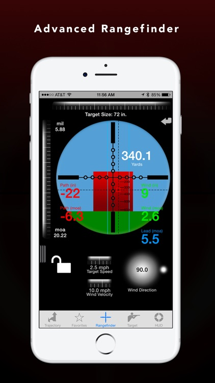 Ballistic Advanced: JBM Ballistics Calculator app image