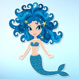 Magical Mermaids & Under Sea Friends Sticker Pack