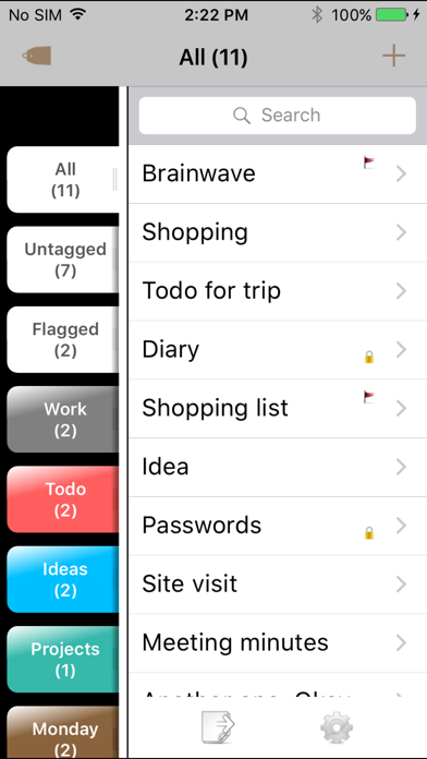 Brainwave screenshot two