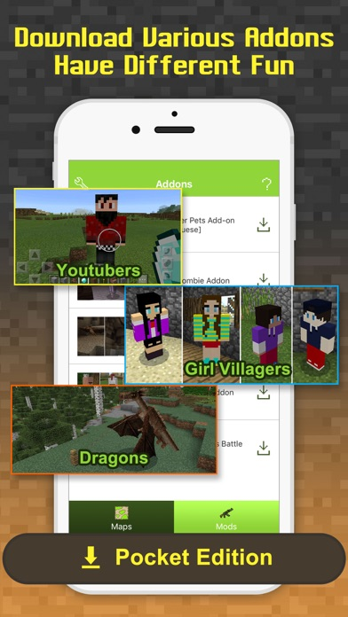 how to get mods on mcpe ios