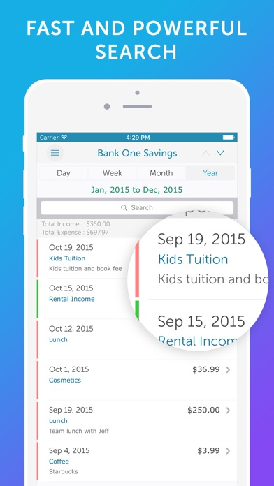 Screenshot #7 for Easy Spending -Expense Tracker