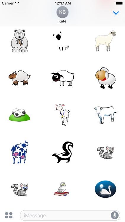 Black and white animals screenshot-3