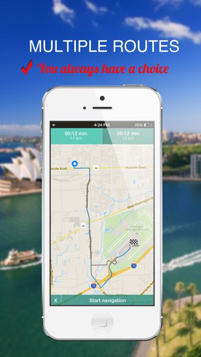 Zurich, Switzerland : Offline GPS Navigation screenshot three