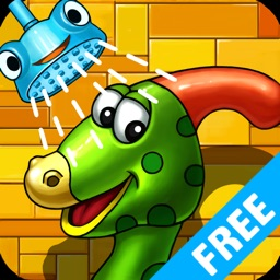 Dino Bath & Dress Up- Potty training app for kids