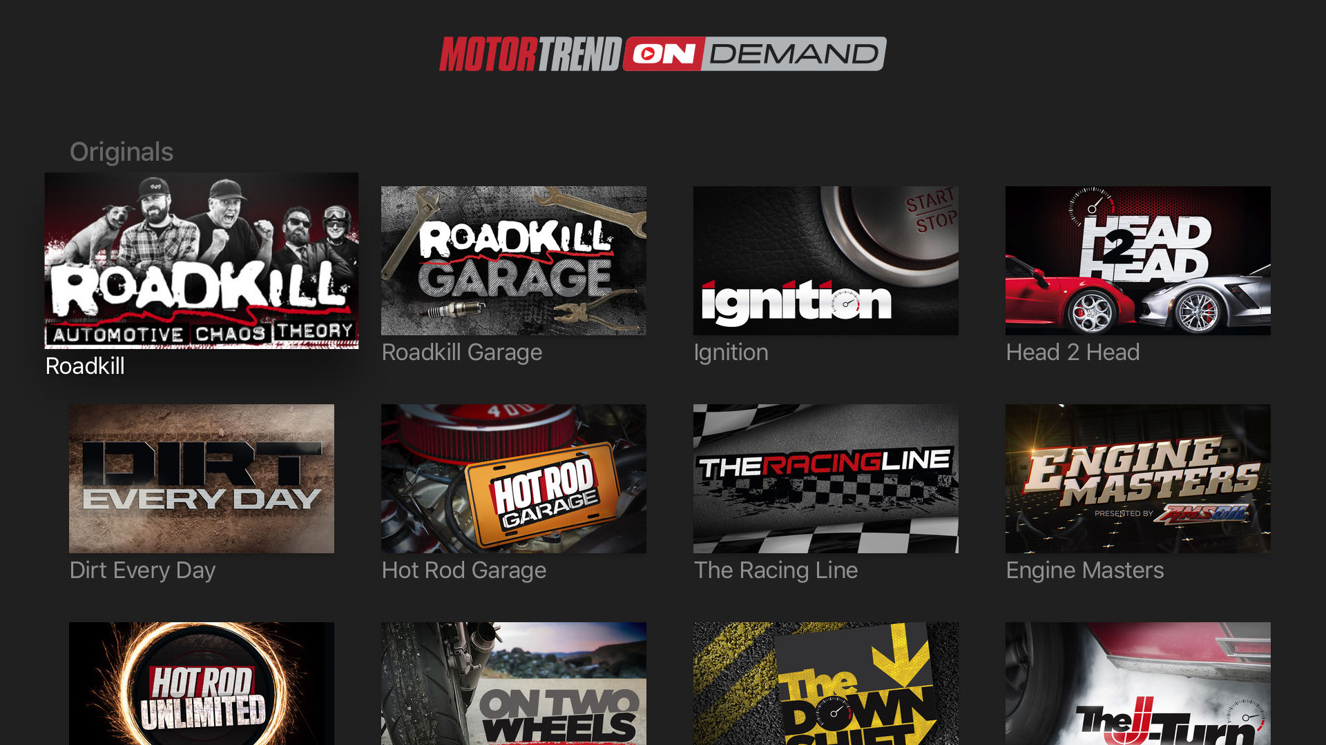 MotorTrend: Stream Car Shows screenshot 10