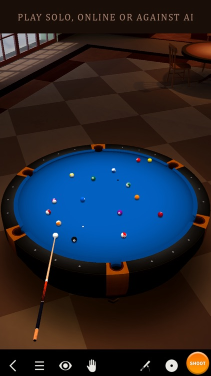 Pool Break Lite 3D Billiards 8 Ball Snooker Carrom screenshot-0