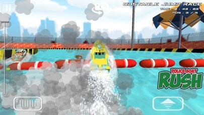 警察ボートラッシュ:3D警察ボートレースのおすすめ画像4