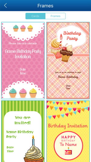 Birthday invitation card maker hd pro on the app store stopboris Choice Image