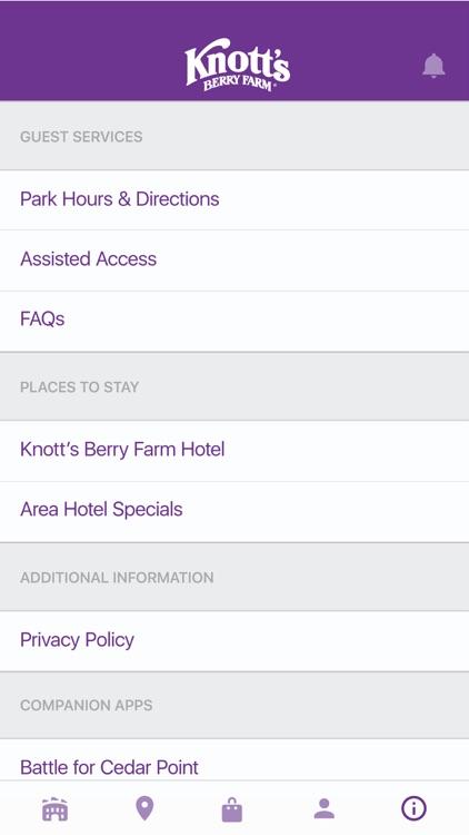 Knott's Berry Farm screenshot-3