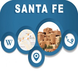 Santa Fe NM USA Offline City Maps Navigation