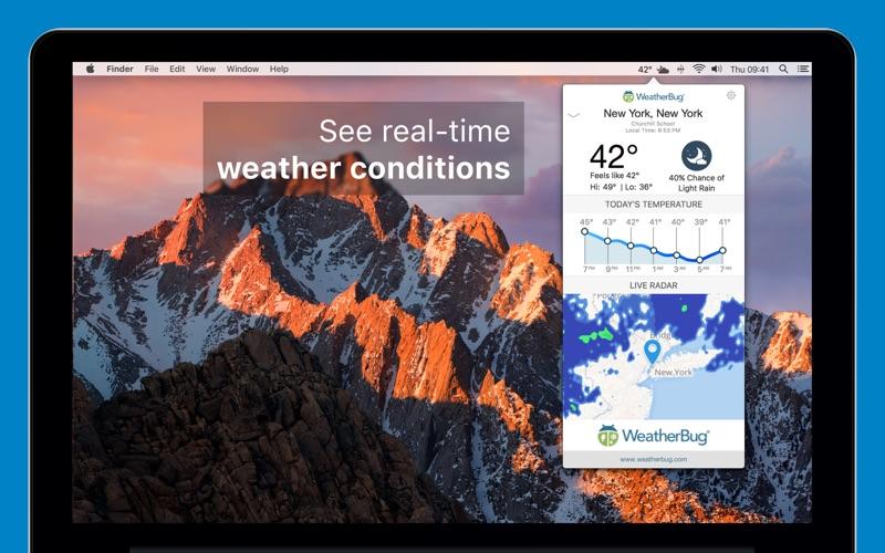 WeatherBug Screenshot