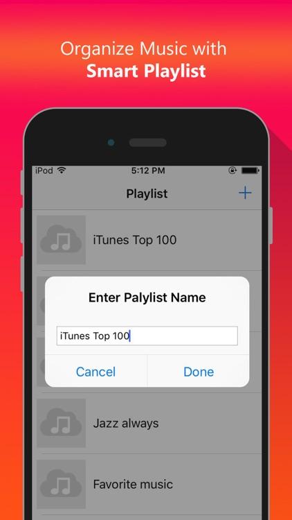 Cloud Music - Offline Mp3 Music Audio Player screenshot-3