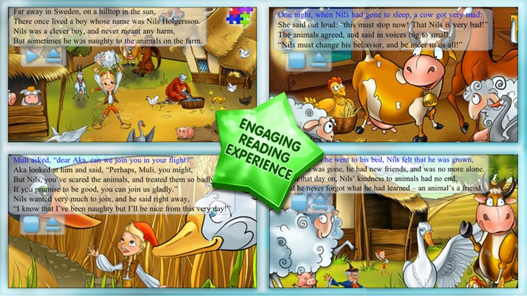 The Wonderful Adventures of Nils - Kids Book screenshot-3