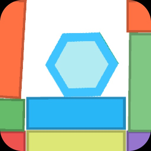 Click Shape Hexagon - Prevention Drop to Endless