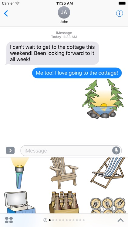 Cottage & Vacation Stickers screenshot-3