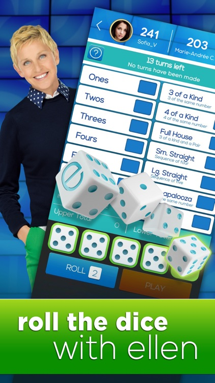 Dice with Ellen - A Fun New Dice Game! screenshot-0