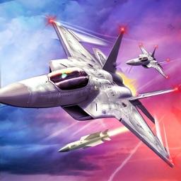 jet fighter race simulator - a jet fighter combat