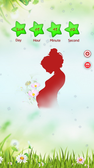Baby Countdown ~ Pro Version screenshot one