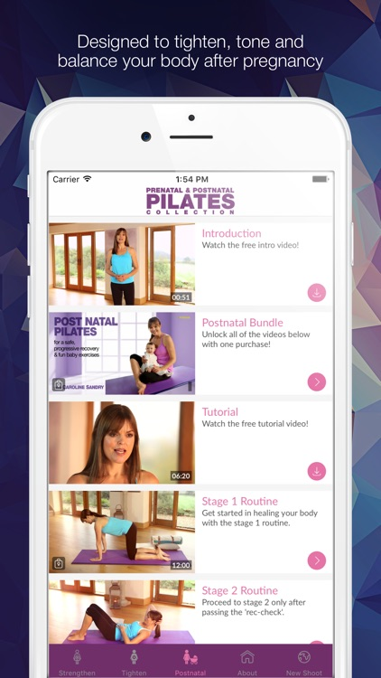 The Pregnancy Pilates Videos with Caroline Sandry screenshot-3