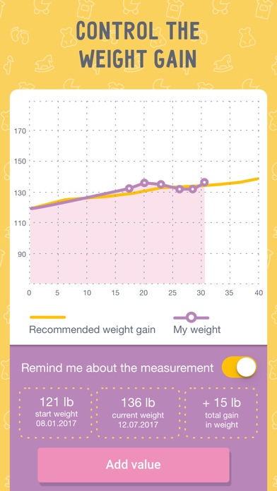 pregnancy tracker md pro due date calculator app image